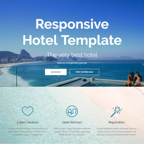 Responsive Hotel Template – Free Download