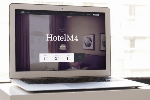 Hotel Mobirise free themes
