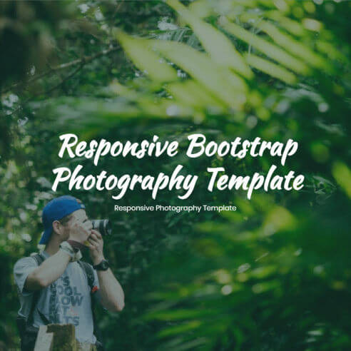 HTML Photography Template – Free Download
