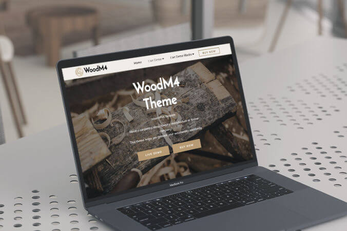Mobirise Wood Bootstrap themes