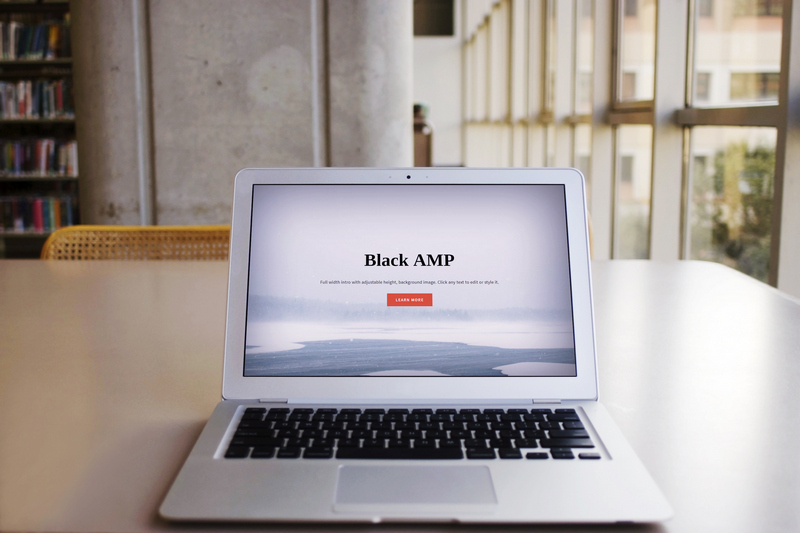 BlackAMP Bootstrap HTML Template