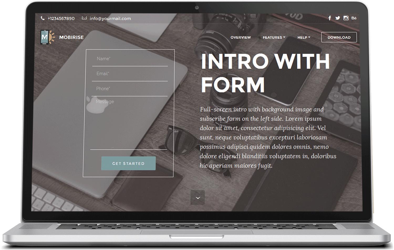 Bootstrap Starter Template - BlockPack