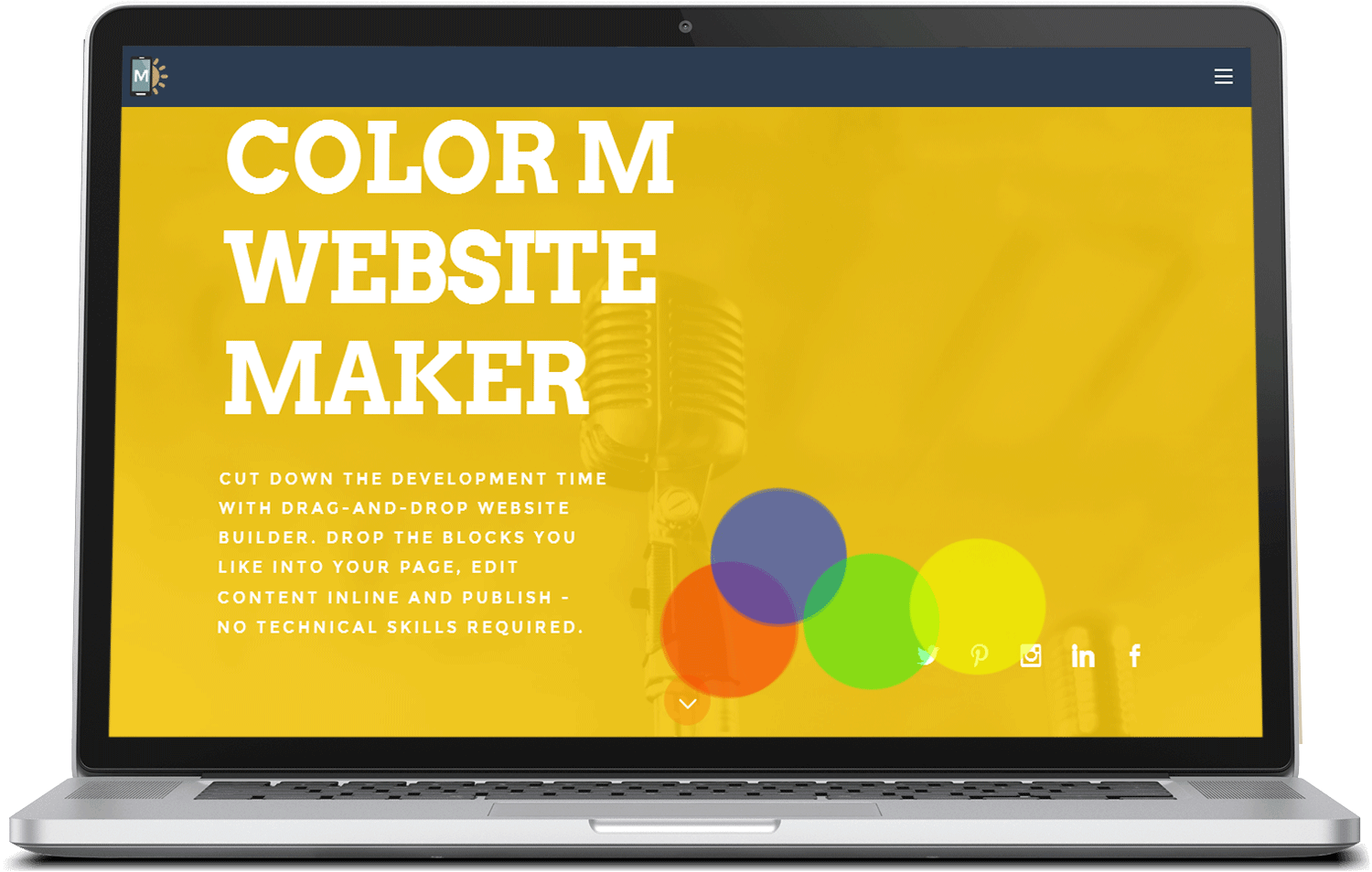 ColorM Bootstrap Responsive Template