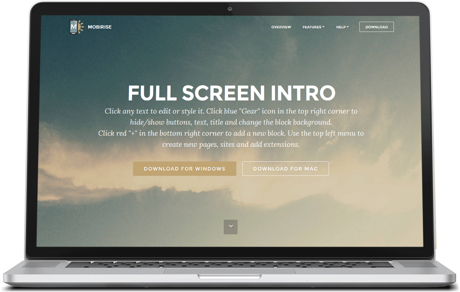 Mobirise 3 Free Bootstrap Template preview