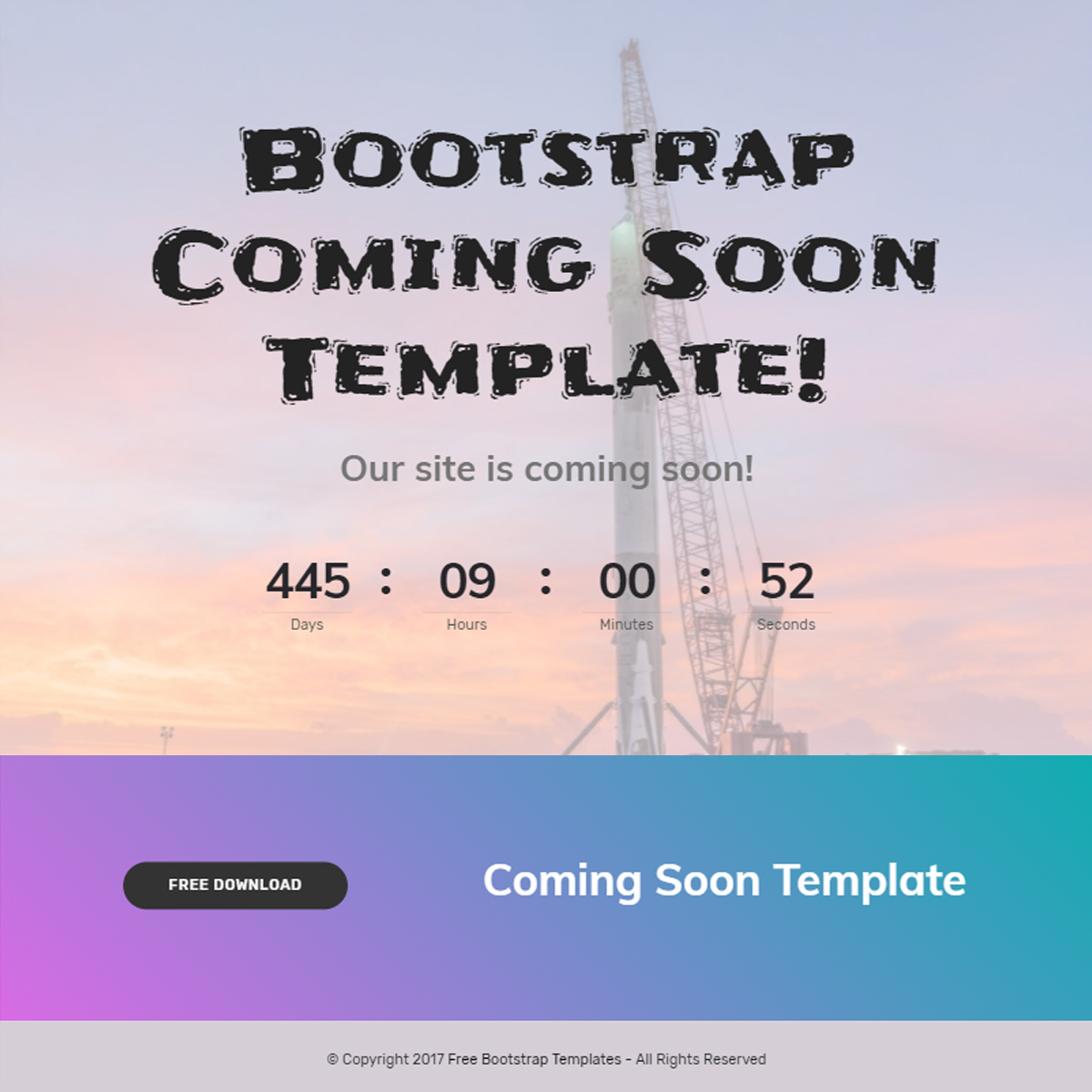 Bootstrap Header Template – Free Download