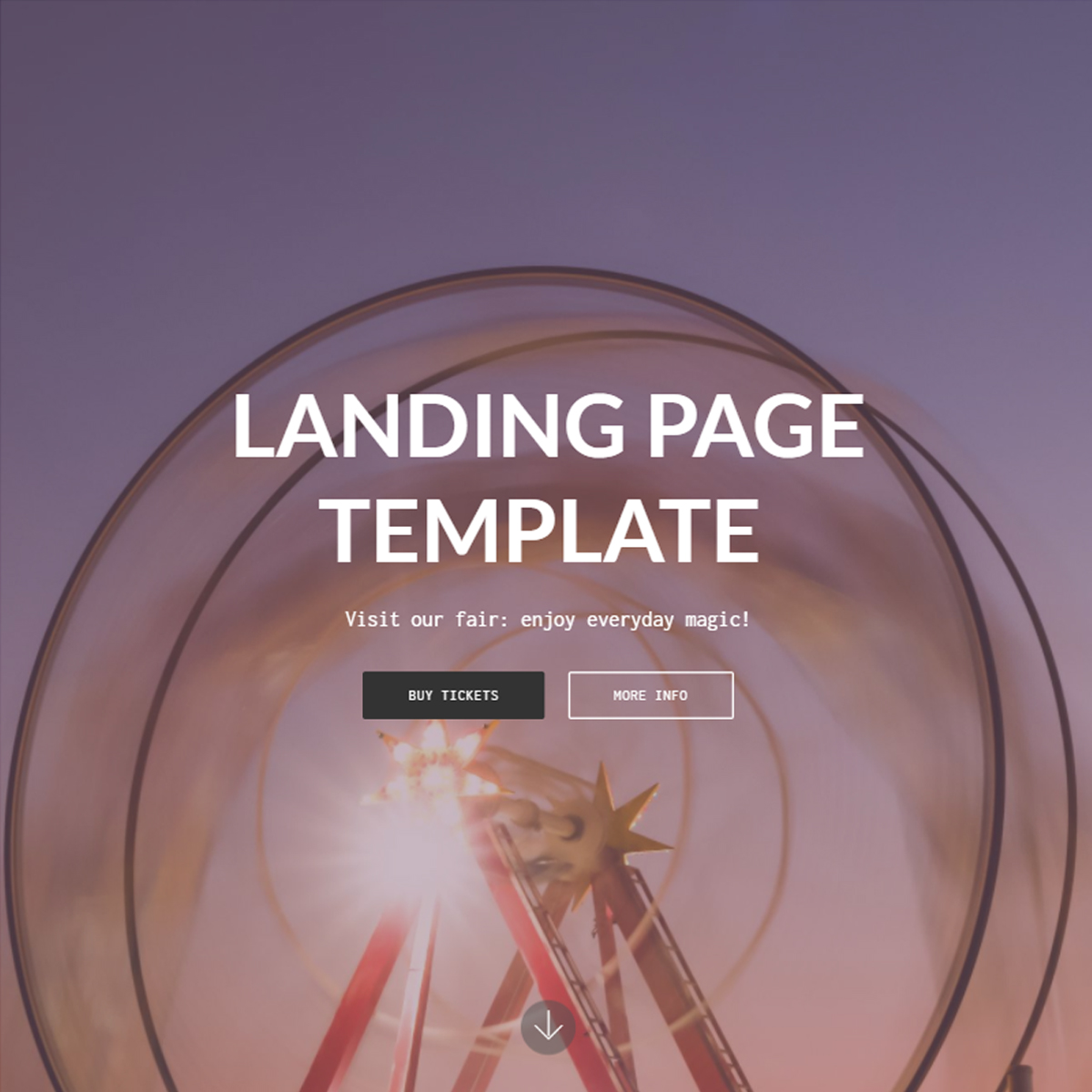 Bootstrap Landing Page Template – Free Download